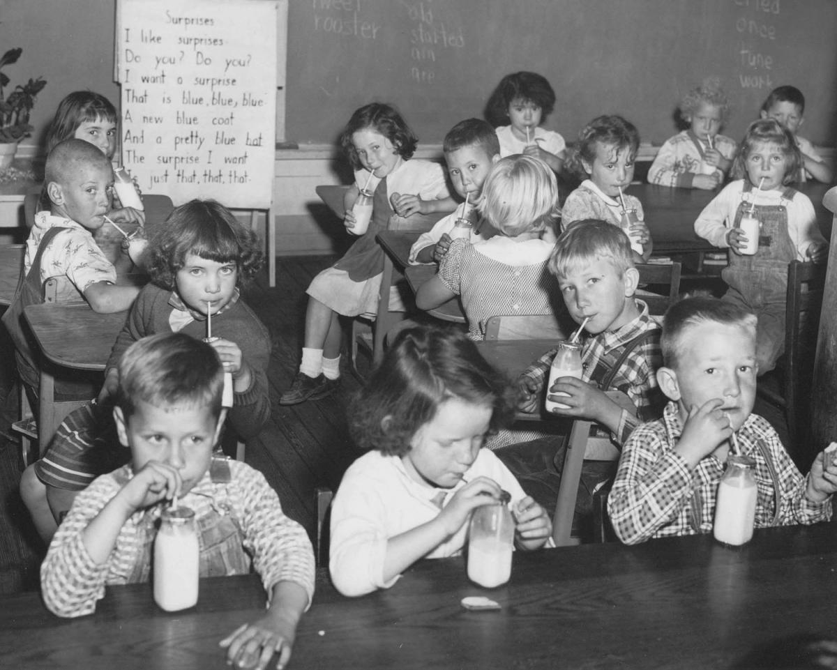 School Lunch archival photo