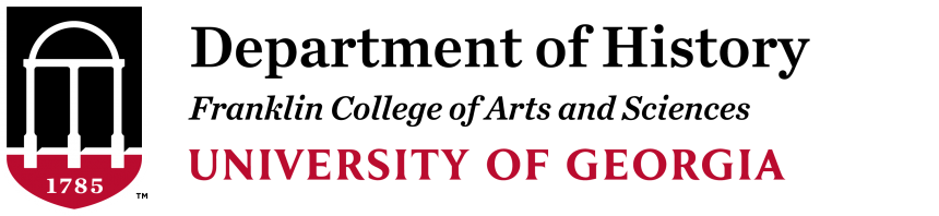 UGA History logo, History Department University of Georgia