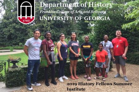 Photo of 8 2019 History Summer Fellows