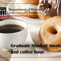 Image of coffee and pastry for Graduate student mmeetup and coffee hour