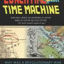flyer with image of revolutionary war map for lunch time time machine lecture March 26, 12:30 pm