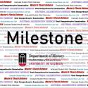 "Header for graduate studnet ""Milestone"" such as defense, comps etc."