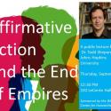 "Photo of Todd Shepard, Johns Hopkins University, ""Affirmative Action and the End of Empires"""